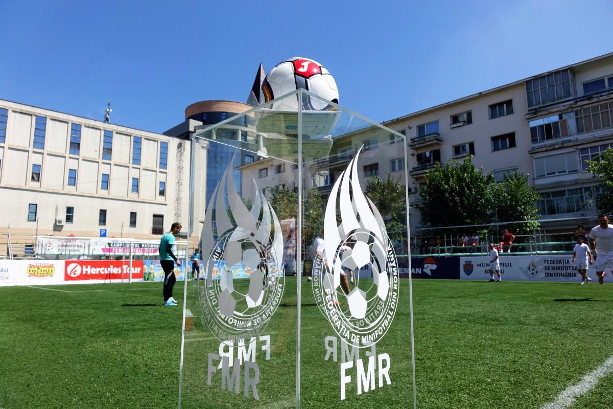 Câștigătoarea Cupei României la Minifotbal 2018 se decide la Sibiu