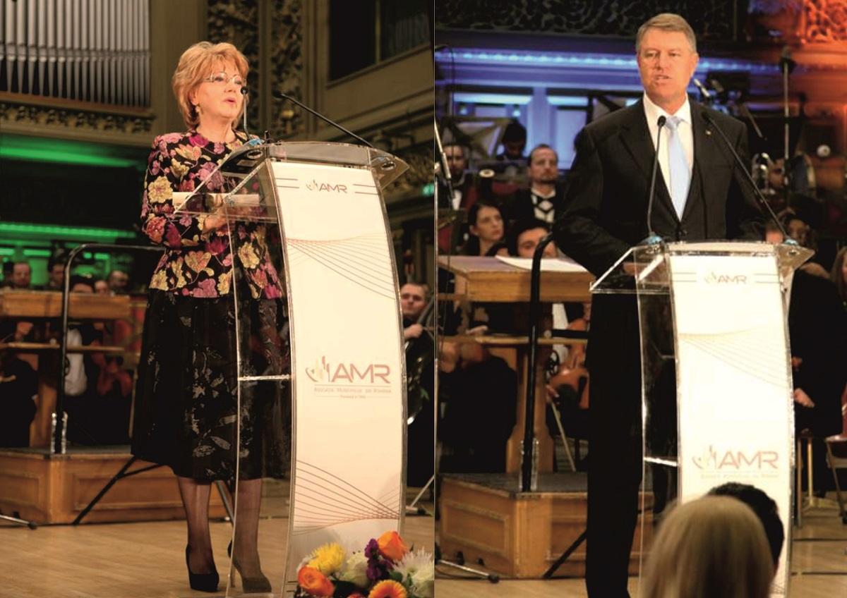 În fața lui Klaus Iohannis, Sibiului i-a fost decernat premiul de Excelență în Turism