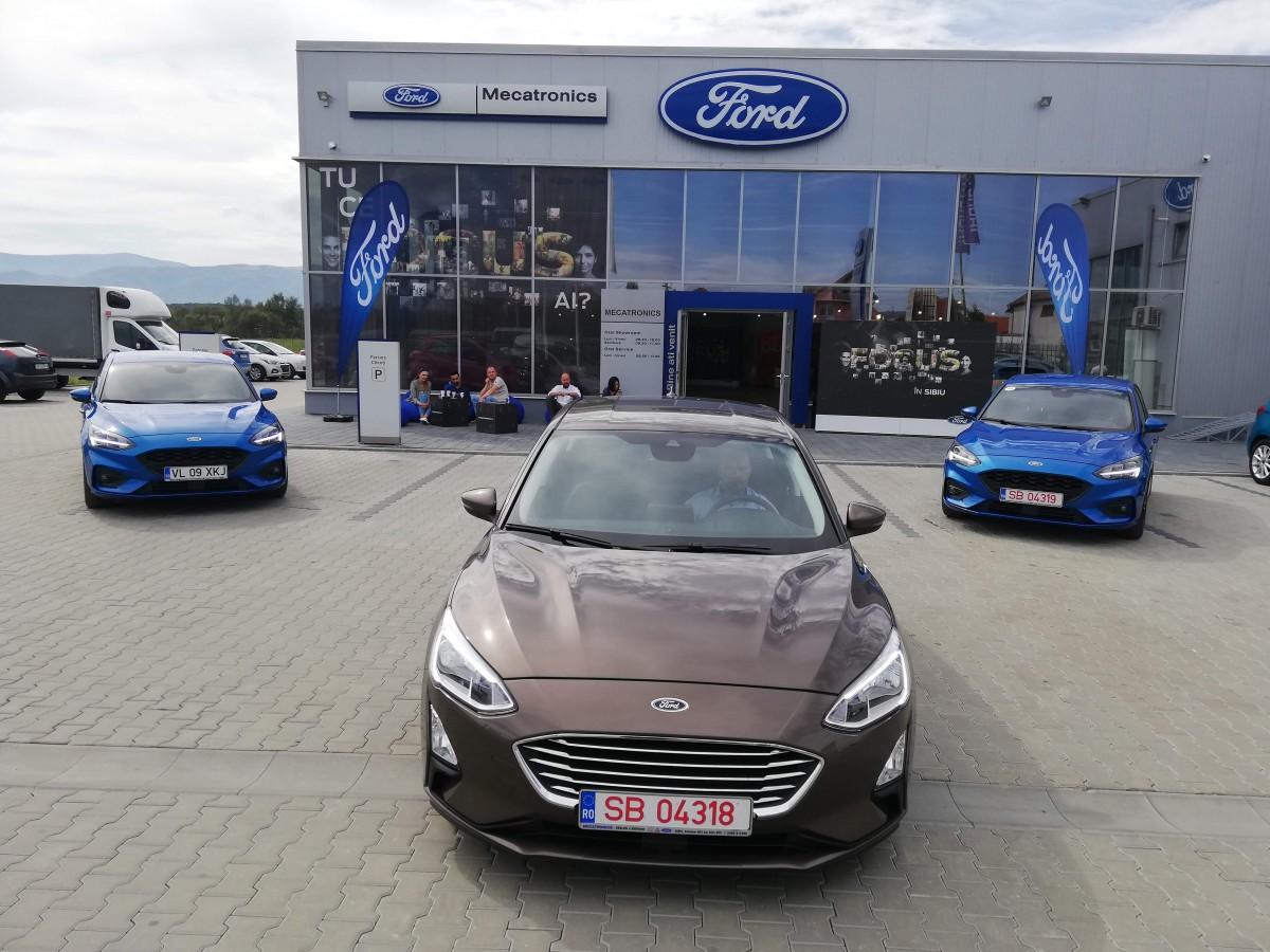 Sibienii au la dispoziție de azi noul Ford Focus. Câteva zile de preț promoțional