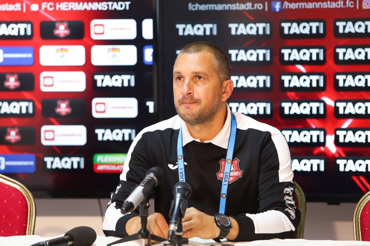 FC Hermannstadt înainte de meciul cu CFR: Avem șanse să obținem din nou cele trei puncte