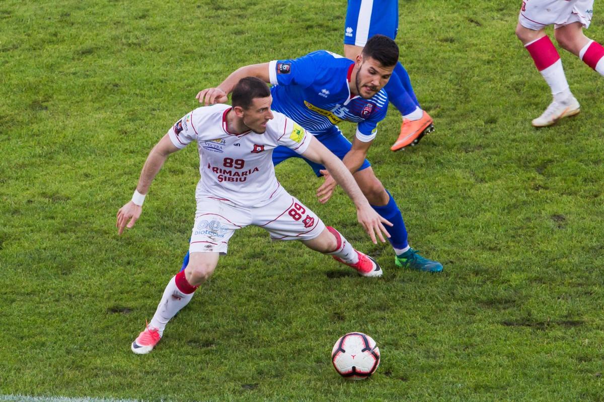 Ștefan Blănaru a plecat de la FC Hermannstadt la Ploiești