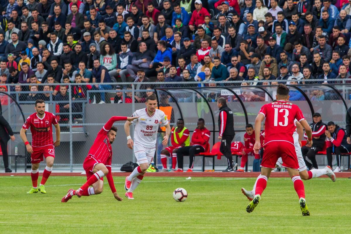 Miriuță, după două meciuri pe municipal: Sibienii iubesc fotbalul!
