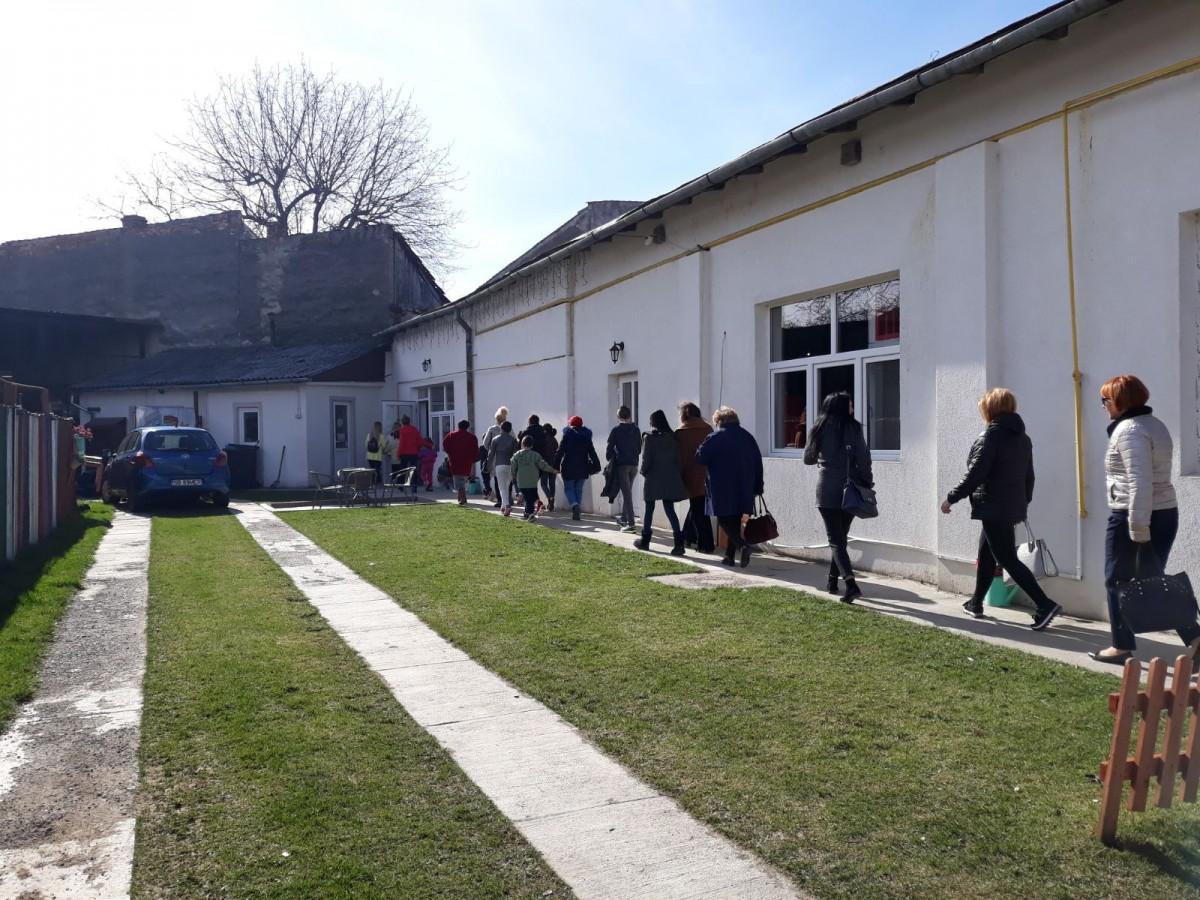 Acțiune PSD Sibiu. Au petrecut o zi cu un grup de copii dintr-un centru de plasament