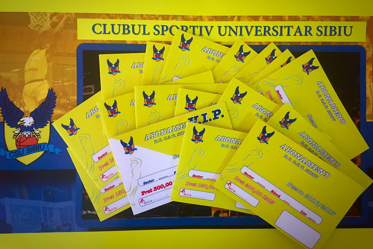 CSU Sibiu pune în vânzare abonamentele pentru nou sezon