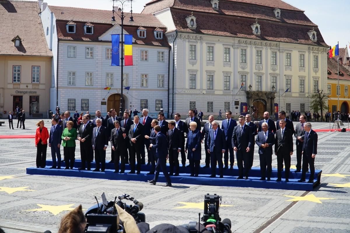 Comunitatea și instituțiile s-au unit în Sibiu pentru un Summit european de succes