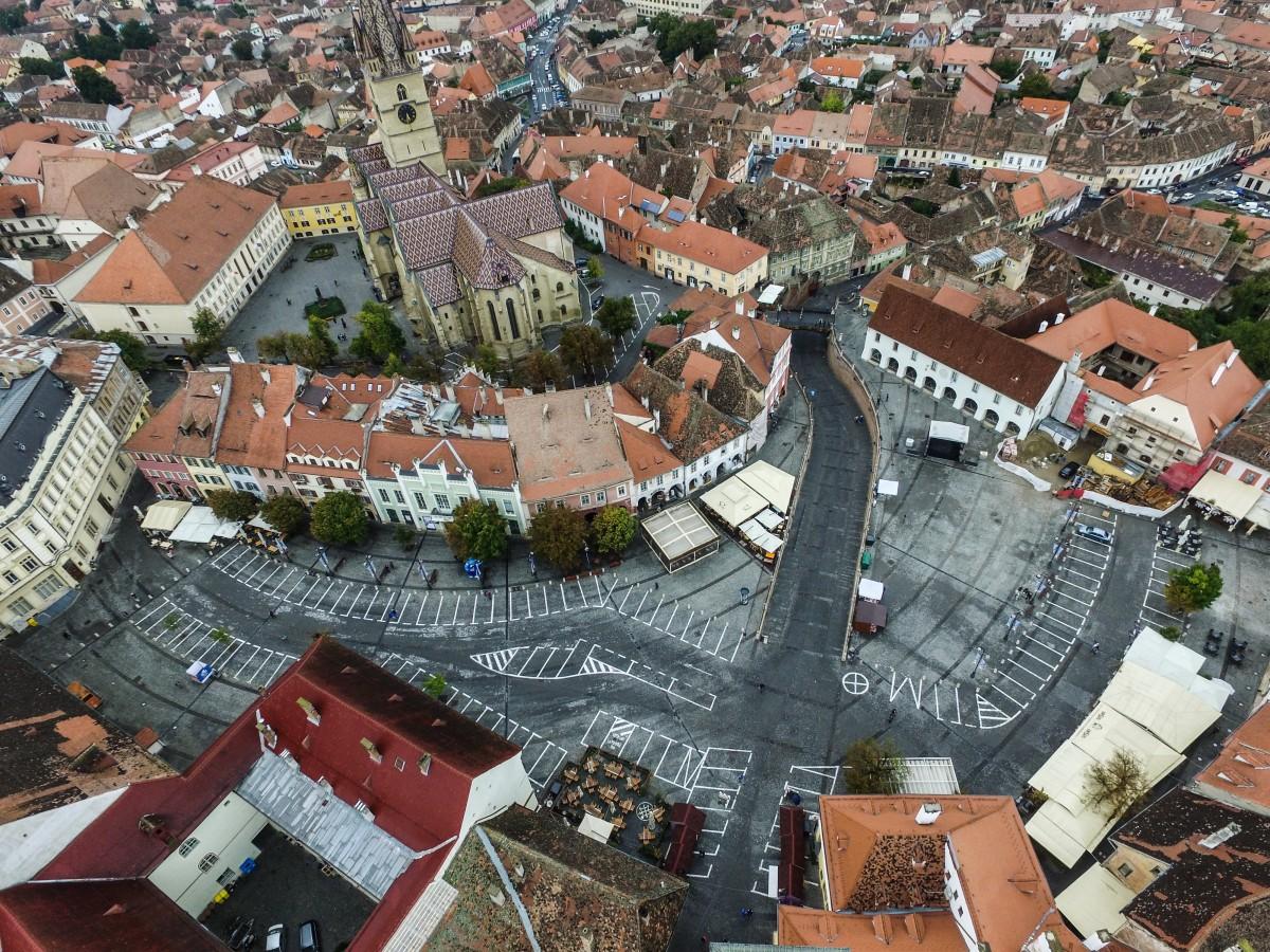 Cele mai frumoase terase din oraș. Proiect AIOS și Turnul Sfatului