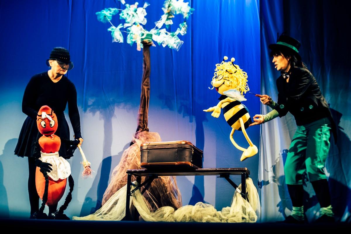 Spectacol gratuit de Ziua Teatrului cu Păpuși, la Teatrul Gong