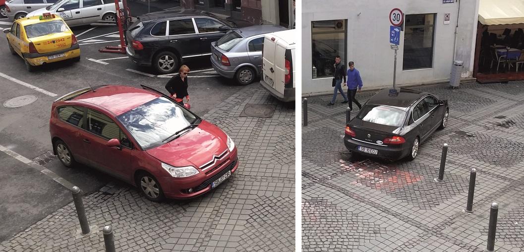 Șeful Piețe Sibiu SA, implicat într-o tamponare cu neacordare de prioritate | Video