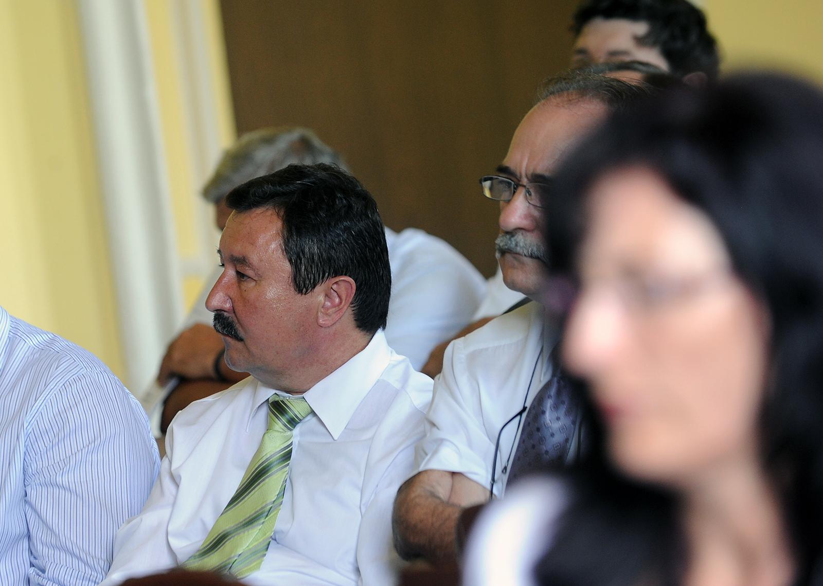 Ioan Axente și Gheorghe Frăticiu. PRU Sibiu a depus lista de candidați