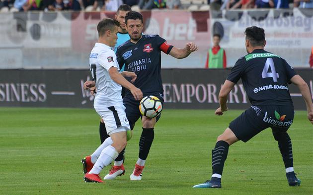 FC Hermannstadt a pierdut amicalul cu Lokomotiva Zagreb