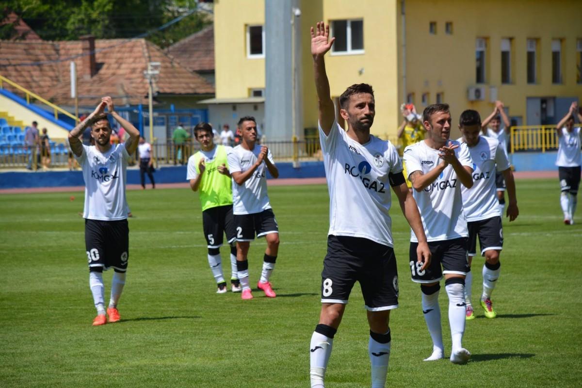 La 90 de minute de sӑrbӑtoare. Gaz Metan Mediaș poate reveni în Liga I, dupӑ doar un sezonde absenţӑ