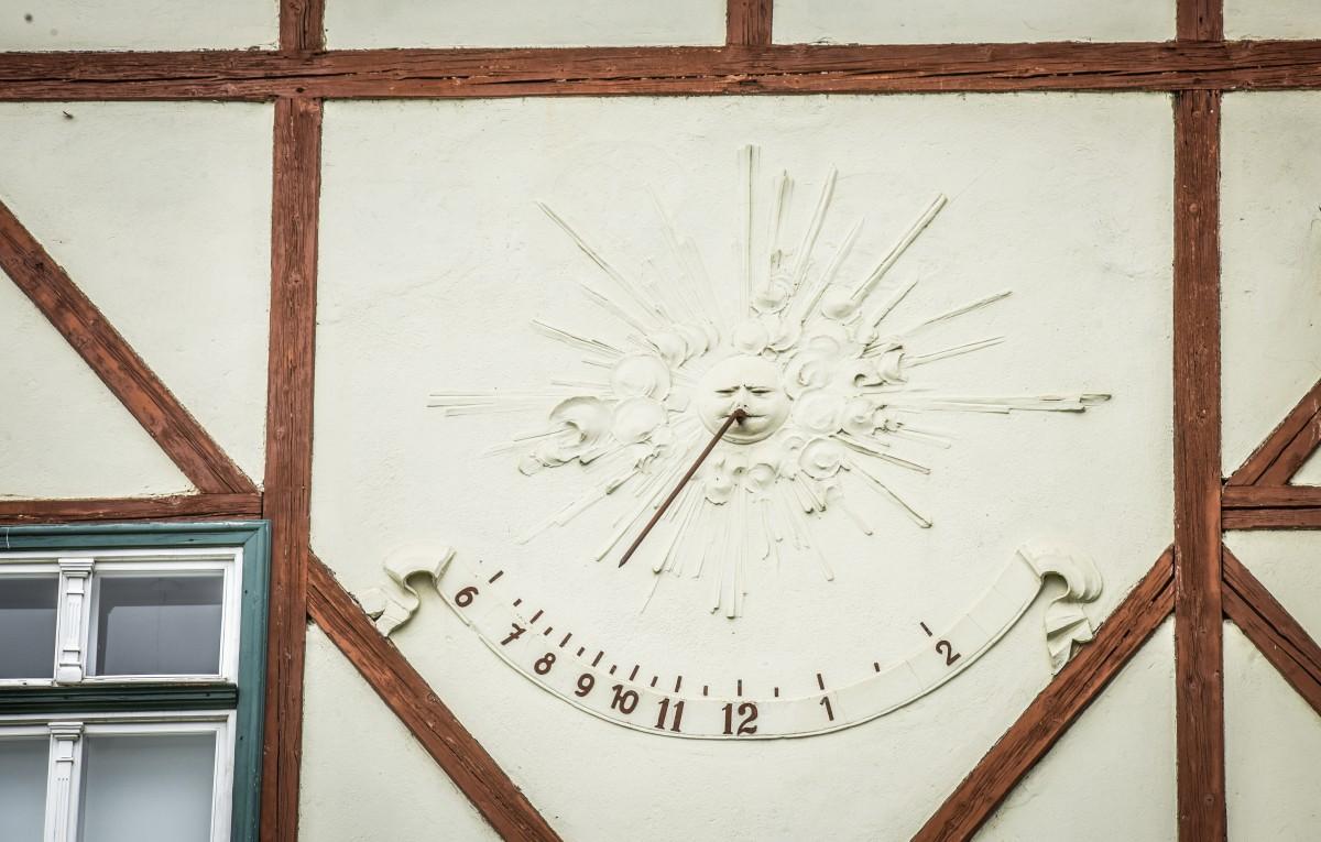 FOTO Ceasurile solare din Sibiu: câte sunt și unde se află