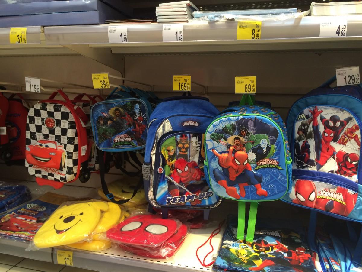 Cadouri pentru început de an școlar la mall