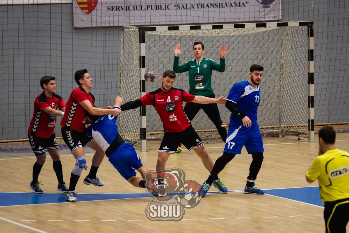 Handbal Club Sibiu învinge Universitatea Craiova, la Sala Transilvania