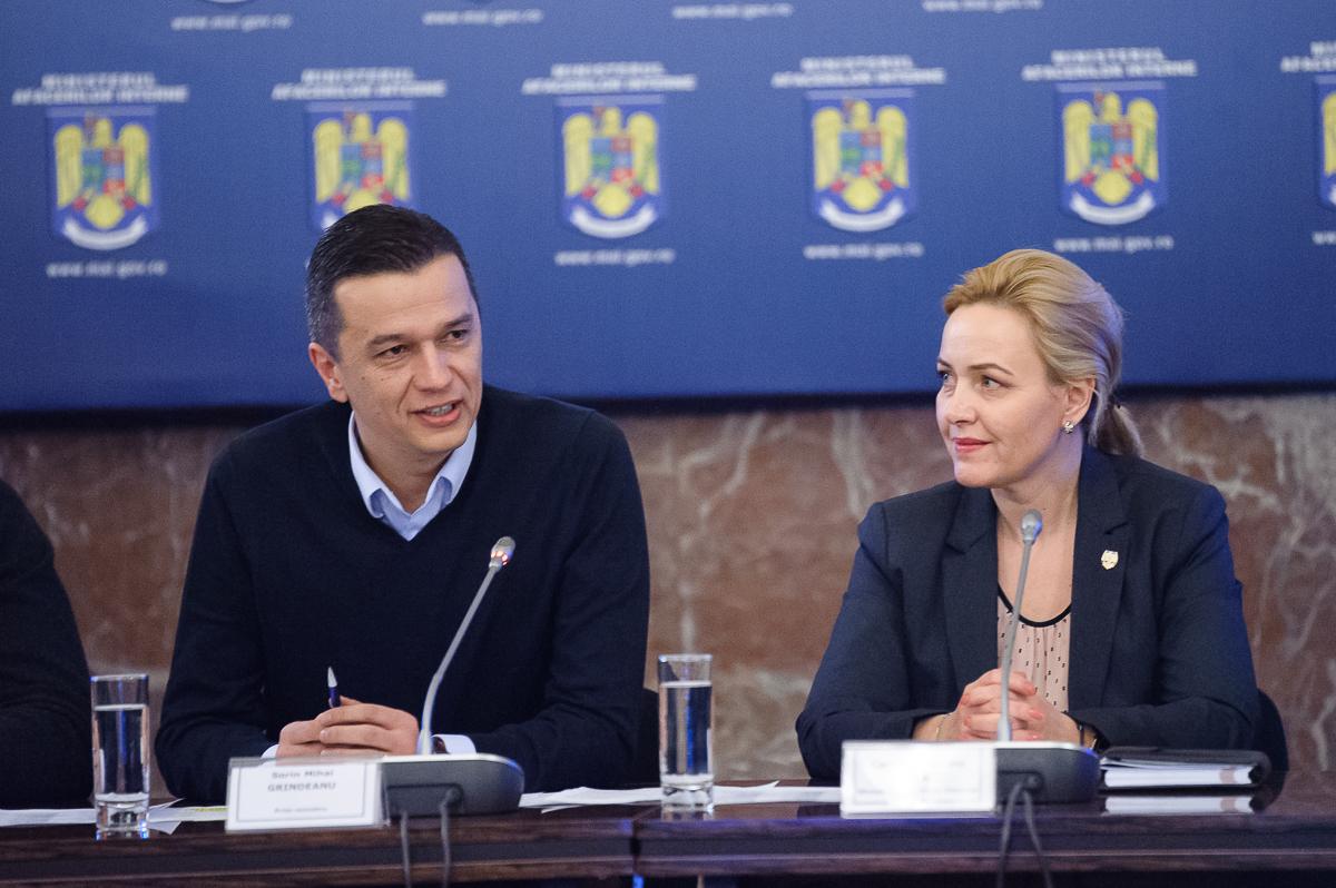 Ministrul de Interne: Am învăţat mecanismul de la un bun profesor, el se numeşte Liviu Dragnea