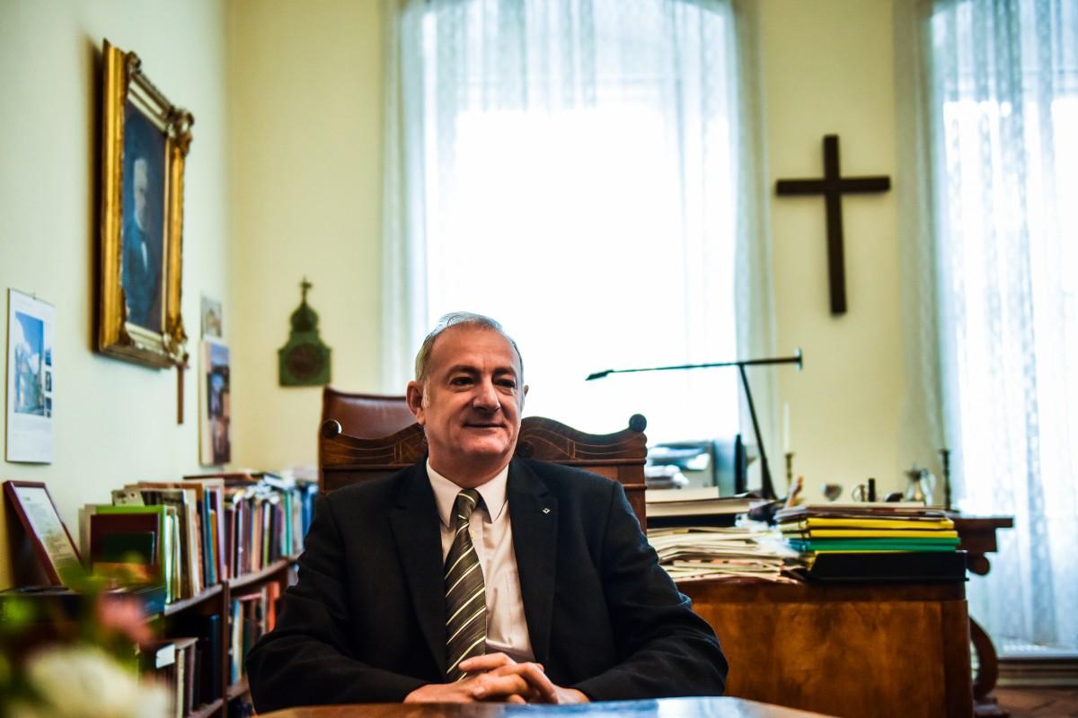 """Excelența Sa Reinhart Guib: """"Fiecare Biserică are problemele ei – noi cu întreținerea, Biserica Ortodoxă cu construirea de noi lăcașe"""""""