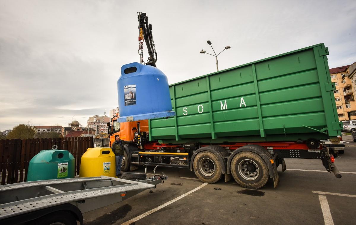 Soma organizează cea de-a treia campanie de colectare a deșeurilor periculoase
