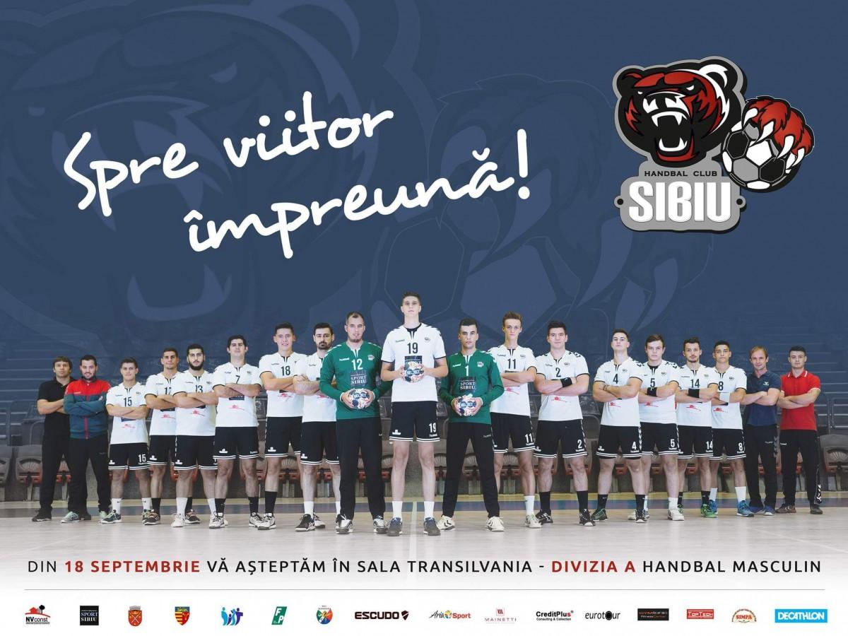 HC Sibiu debutează în noul sezon al Diviziei A. Se pun în vânzare abonamentele