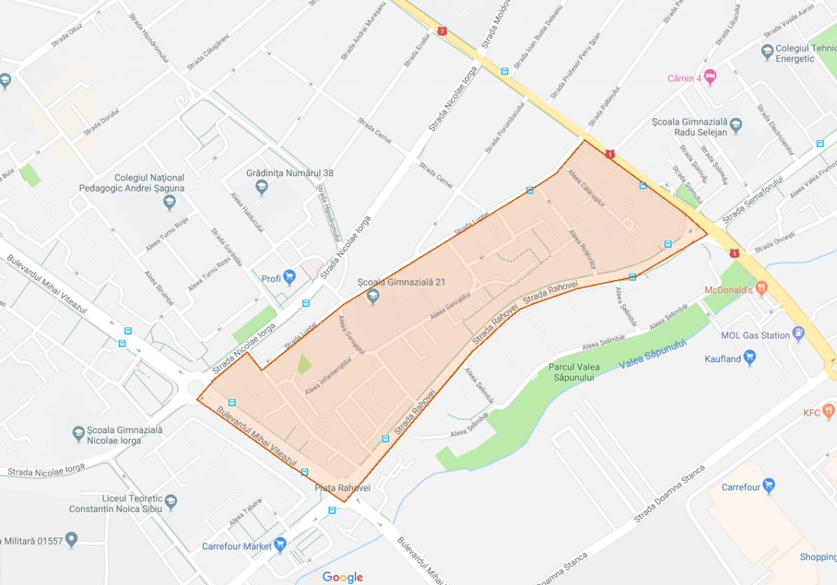 Primăria Sibiu pregătește modernizarea unei noi zone de blocuri: Hipodrom I (CP)
