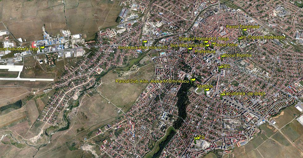 În Sibiu nu mai ai liniște nici în parc. Topul celor mai tăcute și al celor mai zgomotoase locuri din oraș