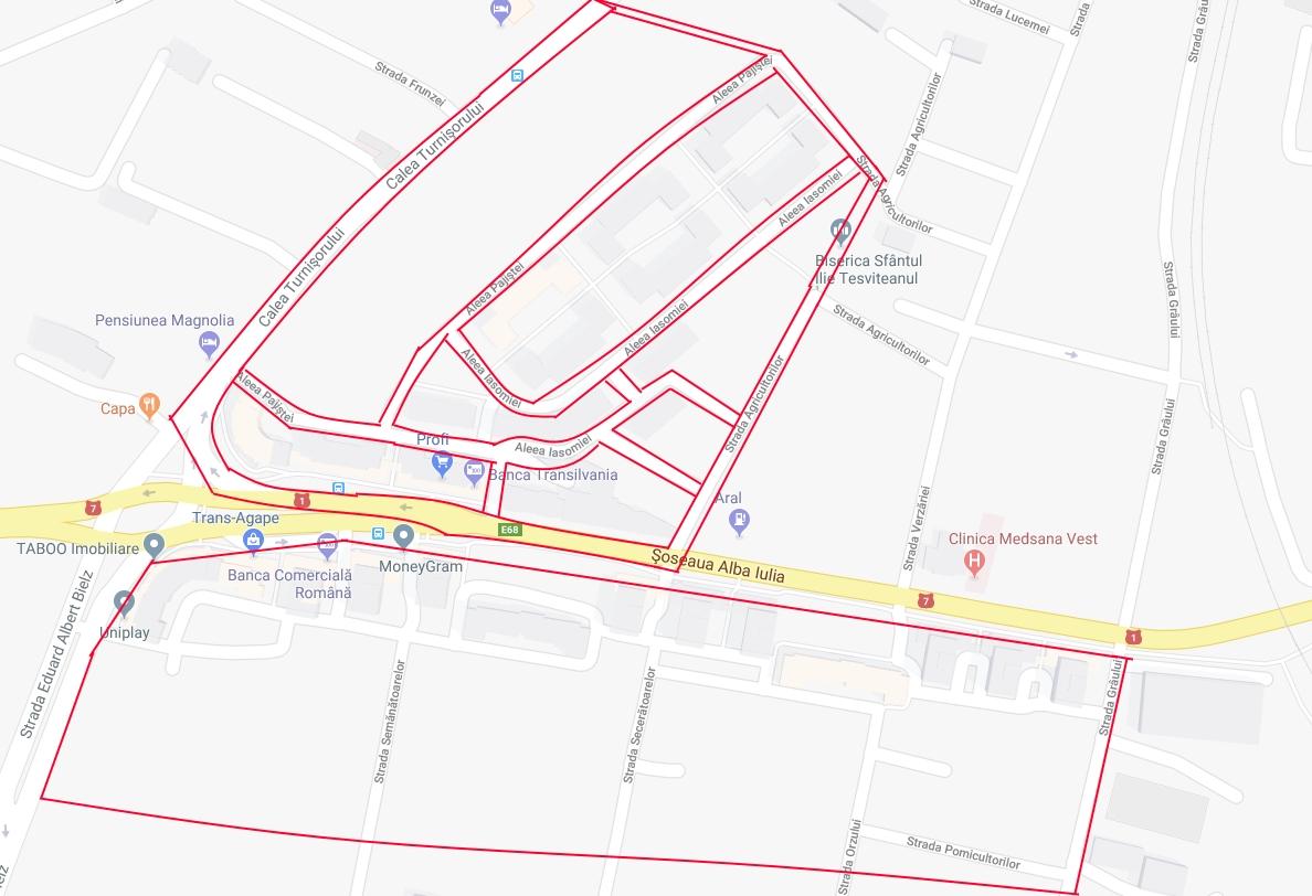 Zona de blocuri din cartierul Turnișor intră în reparații capitale