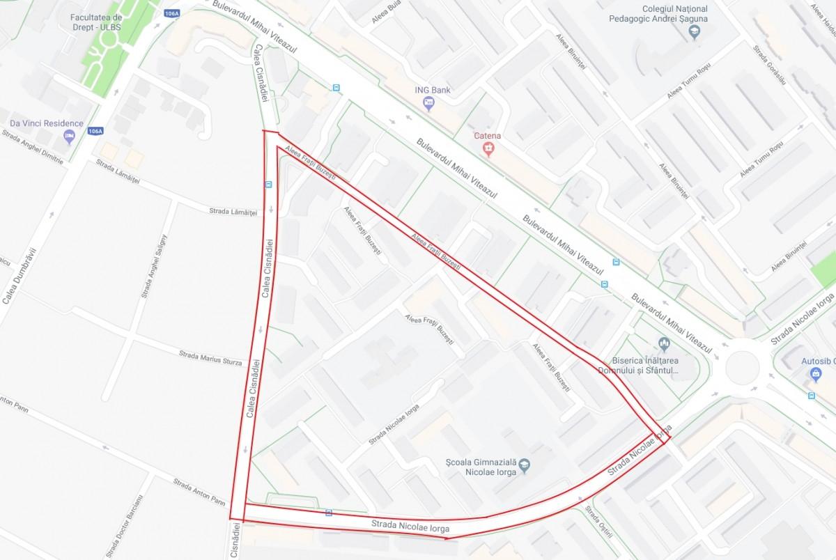Primăria Sibiu a contractat lucrările de modernizare a unei noi zone din cartierul Hipodrom (CP)