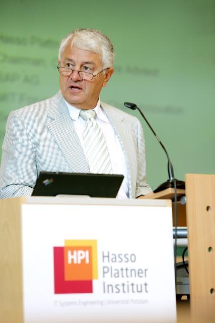 Cel mai bogat german, miliardarul Hasso Plattner, investește în Sibiu
