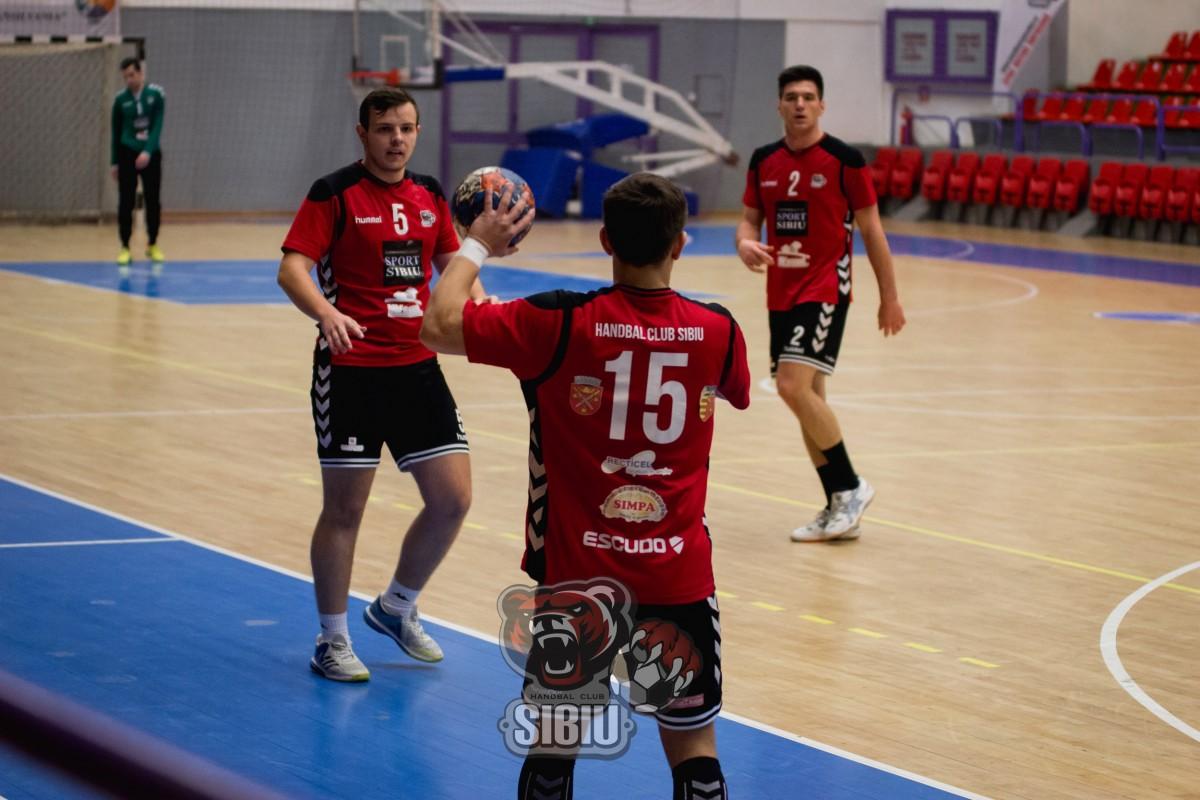 HC Sibiu pierde la un punct meciul cu CS Minaur Baia Mare II