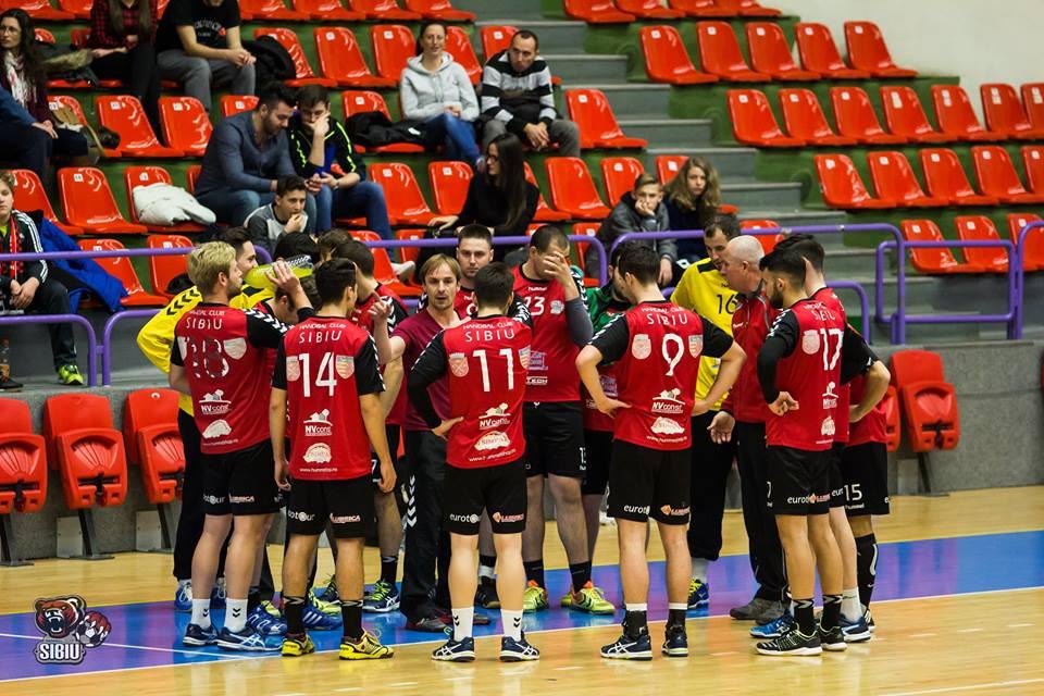 """Meciul sezonului. HC Sibiu primește vizita liderului: """"O să încercăm să ne păstrăm invincibilitatea pe teren propriu"""""""