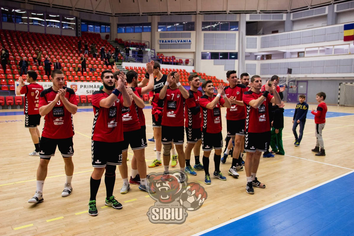 HC Sibiu încheie sezonul cu un meci în fața propriilor suporteri