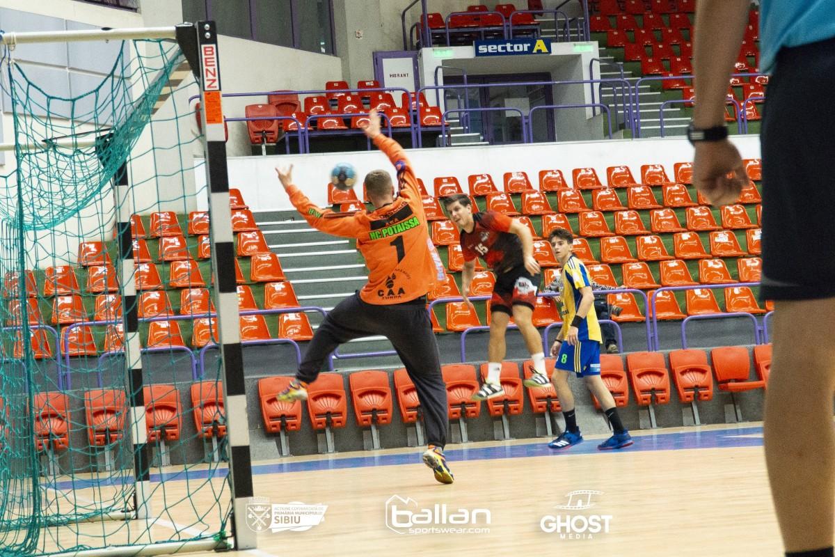 Adoua victorie consecutivă pe teren propriu pentru HC Sibiu