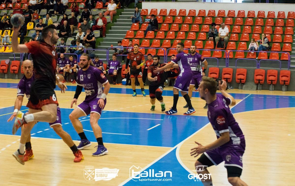 HC Sibiu a pierdut meciul cu Poli Timișoara, din Cupa României