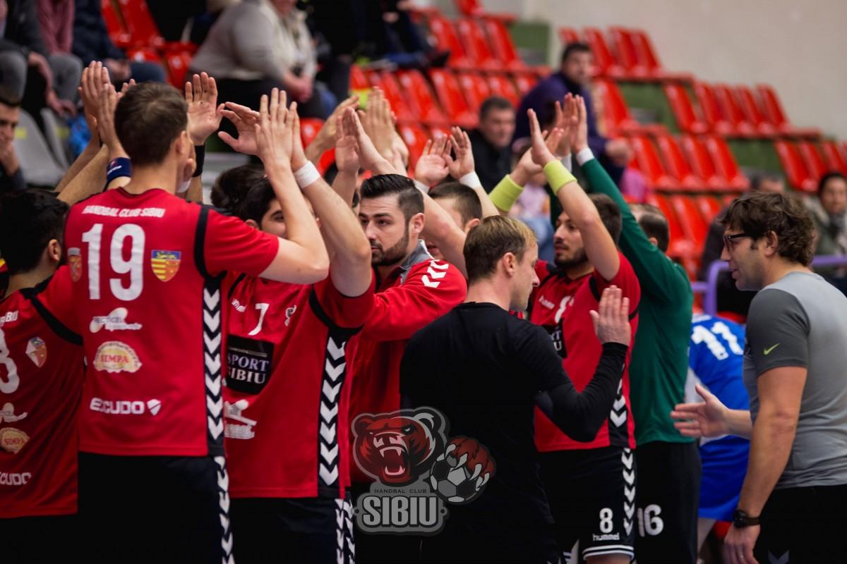 HC Sibiu joacă penultimul meci din campionat în deplasare la Tg. Jiu
