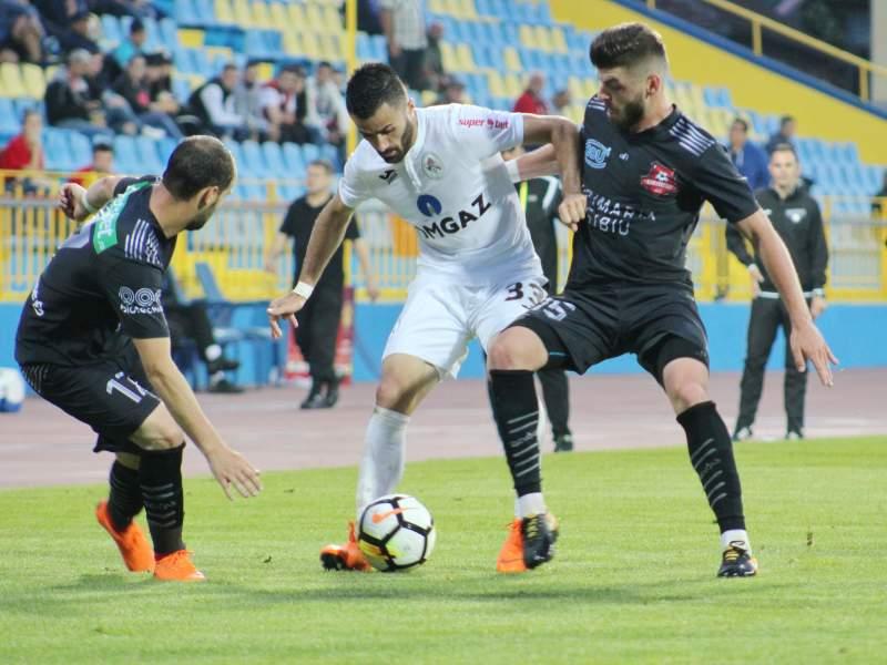 Gaz Metan Mediaș se impune în fața lui FC Hermannstadt cu 2-0