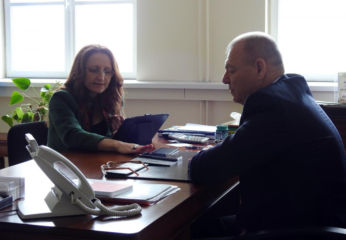 """Primarul Cisnădiei: """"mulțumesc doamnei președintă a Consiliului Județean Sibiu, pentru continuarea bunei colaborări"""" (CP)"""