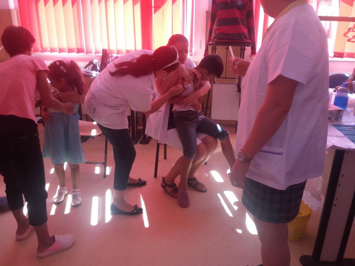 Peste 2.400 de copiii din Sibiu sunt nevaccinați împotriva rujeolei. Apel pentru prevenirea apariției unor focare de îmbolnăvire