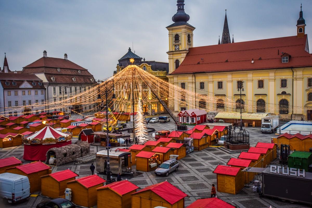 Se deschide Târgul de Crăciun din Sibiu (CP)