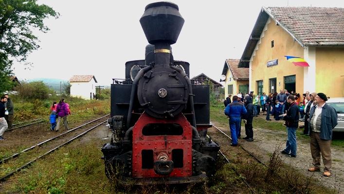 VIDEO, FOTO Mocănița a reînviat. Lecție de voluntariat