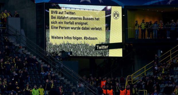 Explozie în apropierea autocarului echipei de fotbal Borussia Dortmund