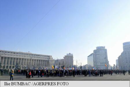 Forestierii protestează în fața Guvernului și solicită deblocarea activității din sectorul de profil