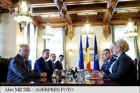 Reprezentanții UNPR, la consultări cu președintele Iohannis