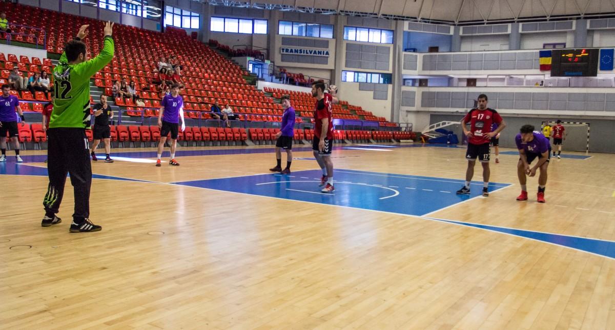 HC Sibiu pierde meciul de pe teren propriu, cu CSU Poli Timișoara