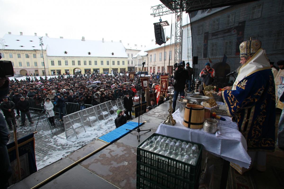Programul evenimentelor de Bobotează în centrul Sibiului