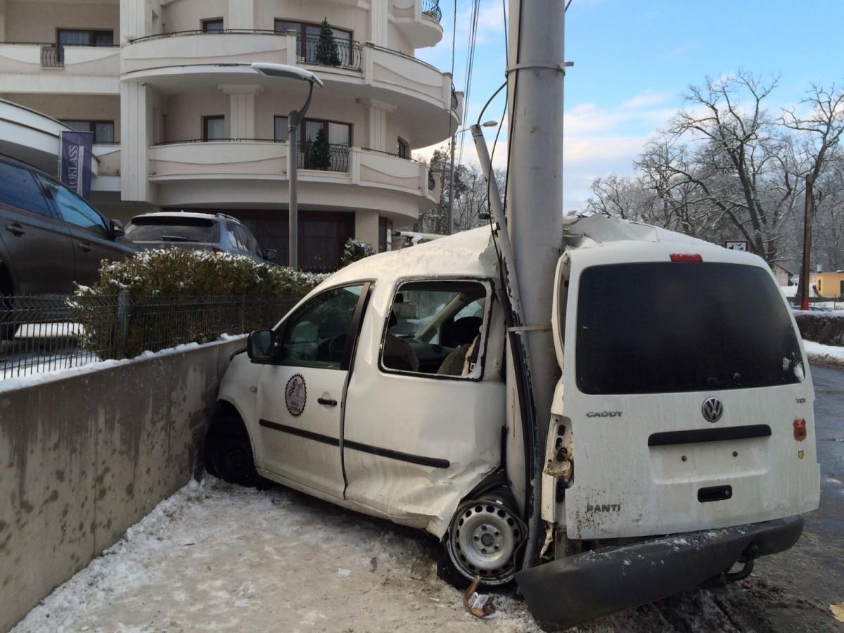 ACTUALIZARE- Accident grav în față la Hilton.O victimă este în comă profundă