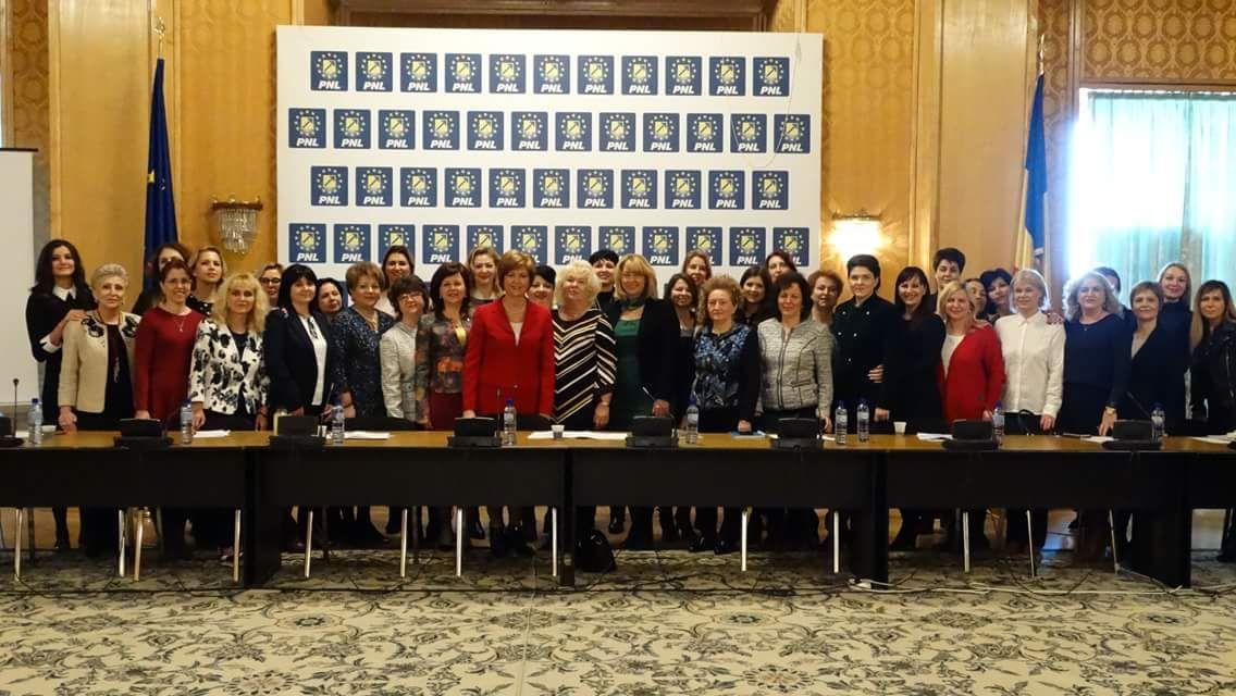Ședința Biroului Executiv Național al Femeilor Liberale din România