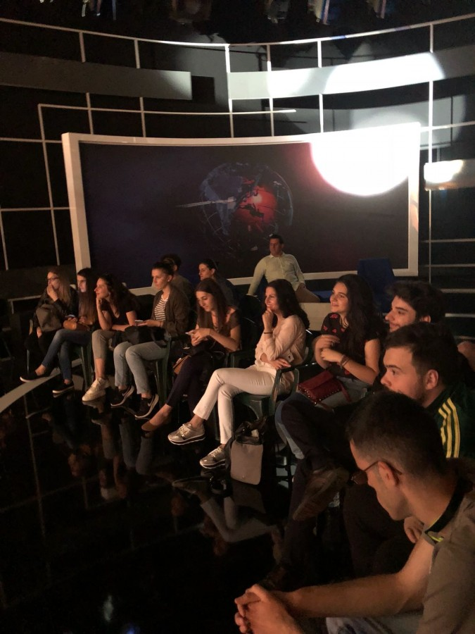 Studenții sibieni vizitează presa națională | Foto