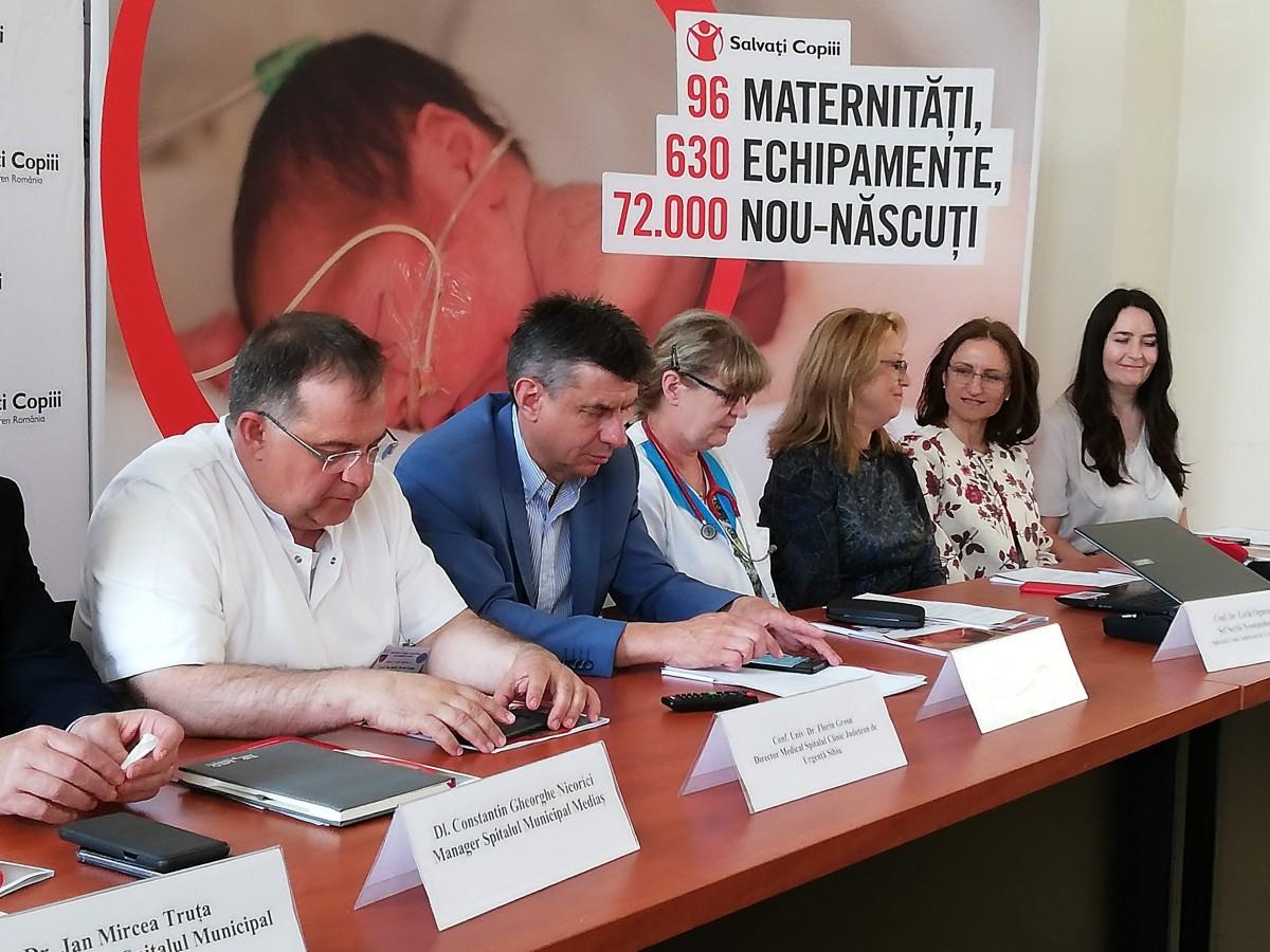 O nouă donație pentru prematurii din Sibiu.Urmează Mediașul