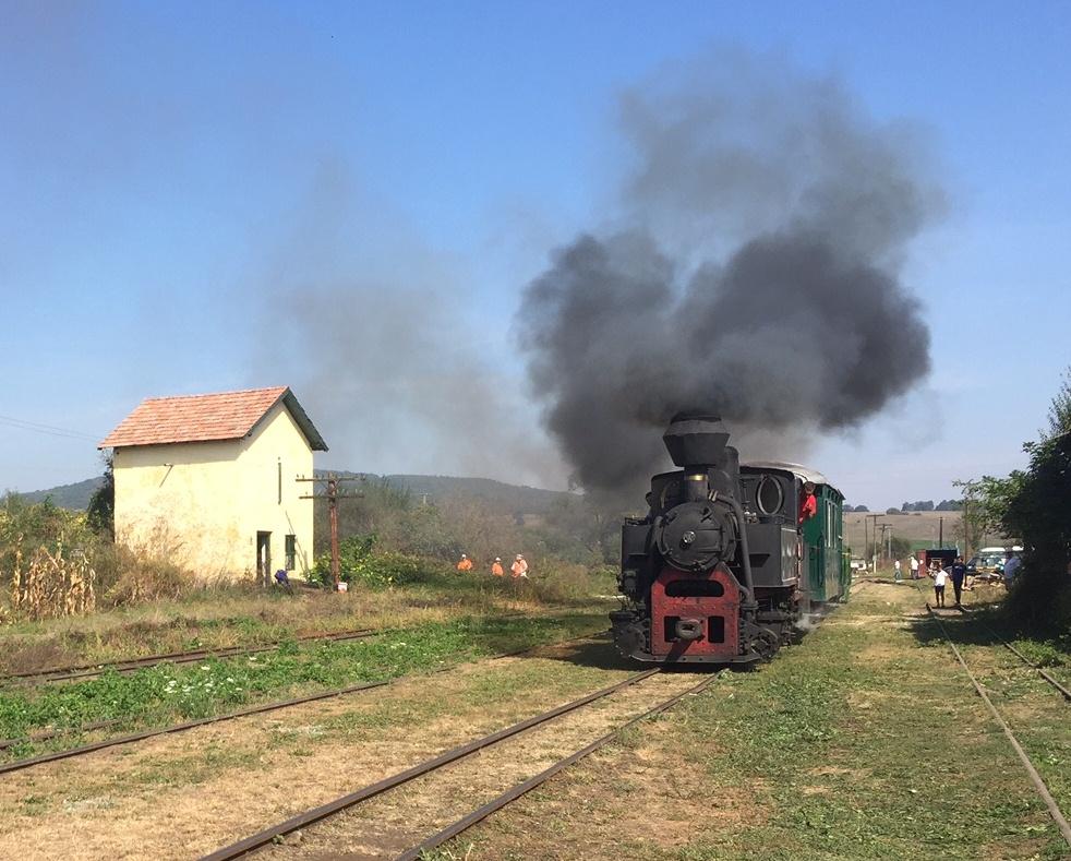 FOTO, VIDEO Week-end cu Mocănița. Peste 1.000 de rezervări pentru bilete