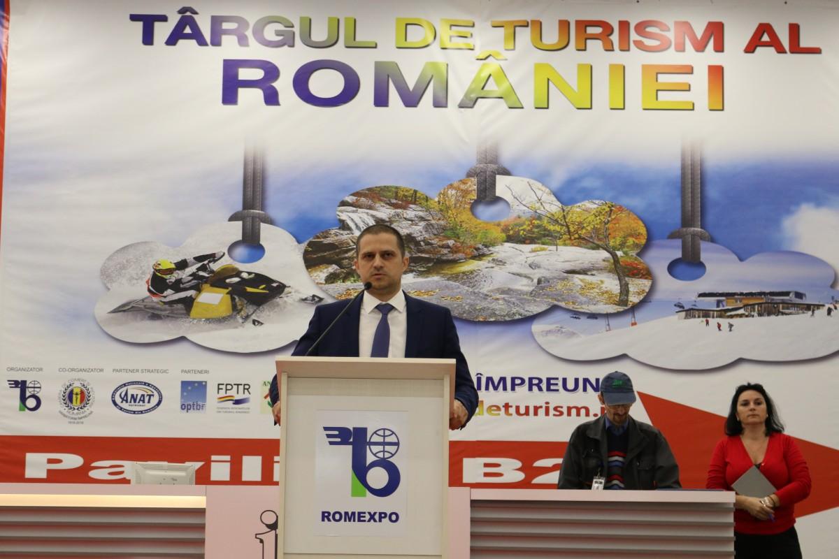 Ministrul Turismului a deschis oficial Târgul de Turism din România (CP)