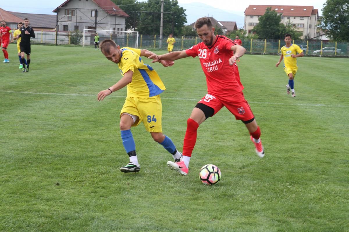 FC Hermannstadt câștigă ultimul amical. Săptămâna viitoare începe campionatul
